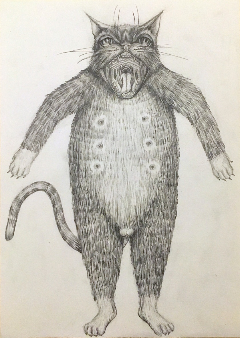 Leslie Carmin, Neutered, Pencil,2018 edited